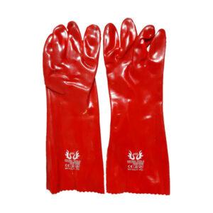 دستکش ایمنی ضد اسید ساق بلند
